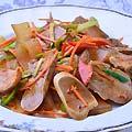 テイルと春雨の冷菜 780円