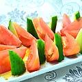 トマトとキュウリのサラダ 480円